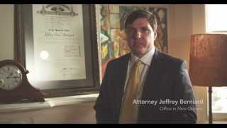 Louisiana Mesothelioma Attorney Jeff Berniard- Your rights for Asbestos Case