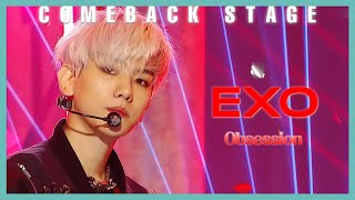 Gambar cover [Comeback Stage]  EXO - Obsession,  엑소  - Obsession Show Music core 20191207