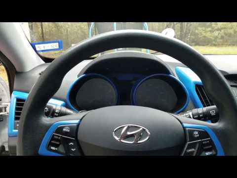 How To Veloster Steering Wheel and Instrument Cluster Removal