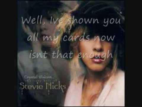 stevie nicks - Talk to me lyrics