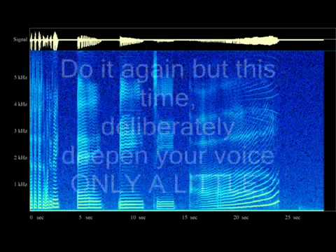 How to deepen my voice permanently