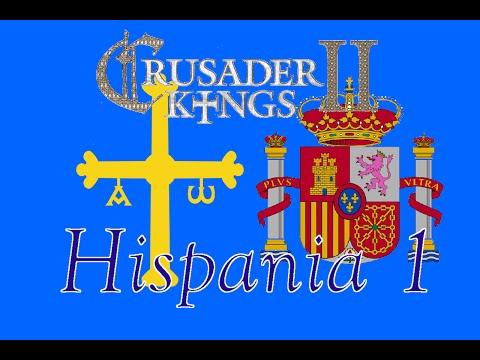 Let's Play Crusader Kings 2 | Hispania 1