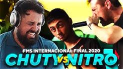 PAPO REACCIONA A CHUTY vs NITRO - FINAL FMS INTERNACIONAL 2020