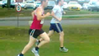 Ellesmere 10k 28/08/2011 Daniel Pedley finish line
