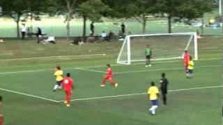 2011 OFC U-17 Championship / Day 6 / Solomon Islands vs Tonga Highlights