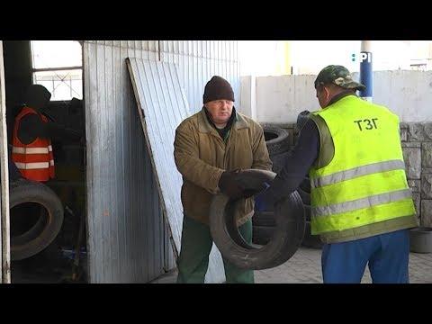 Телеканал UA: Рівне: Демонтаж шиномонтажу: споруду розбирають, власник звернувся до поліції