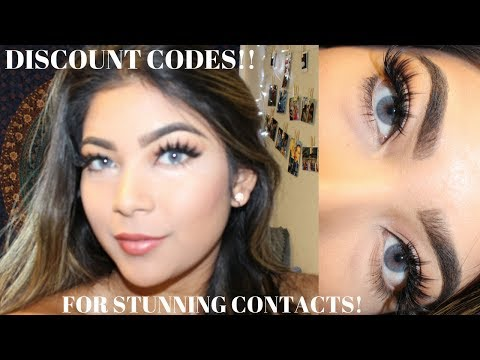 MOST AFFORDABLE SOLOTICA CONTACTS | BEST Contacts For Dark Eyes + DISCOUNT CODES!!!