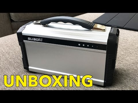 VLOG: Awesome Suaoki Solar Powered Portable Generator Unboxing and Review!
