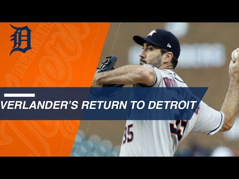 Justin Verlander Honored By Detroit, Strikes Out 10 In Win
