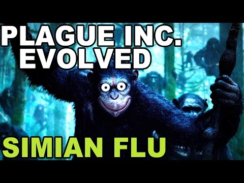 GETTING BACK INTO PLAGUE | Plague Inc. Evolved: Simian Flu