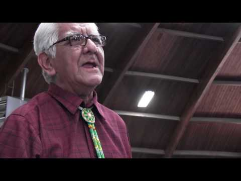 Dr. Wilson Aronlith Jr. Presentation on Navajo Foods (In Nav