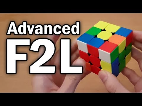 Advanced F2L Tutorial (CFOP)