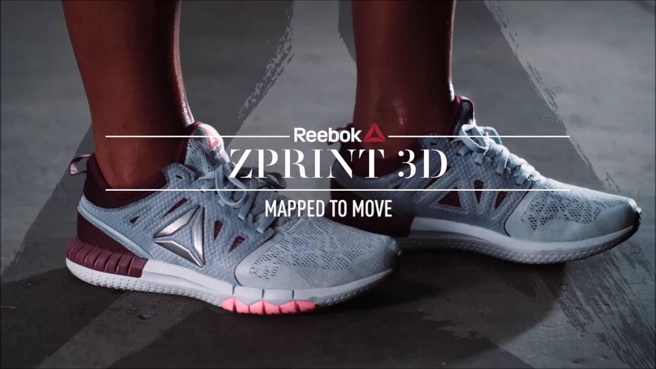 Reebok ZPrint 3D | Cosmossport - YouTube