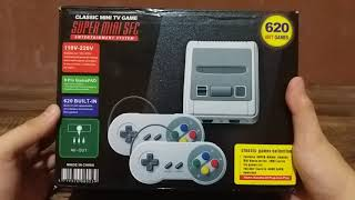 Classic Mini TV Game SUPER MINI SFC Unboxing