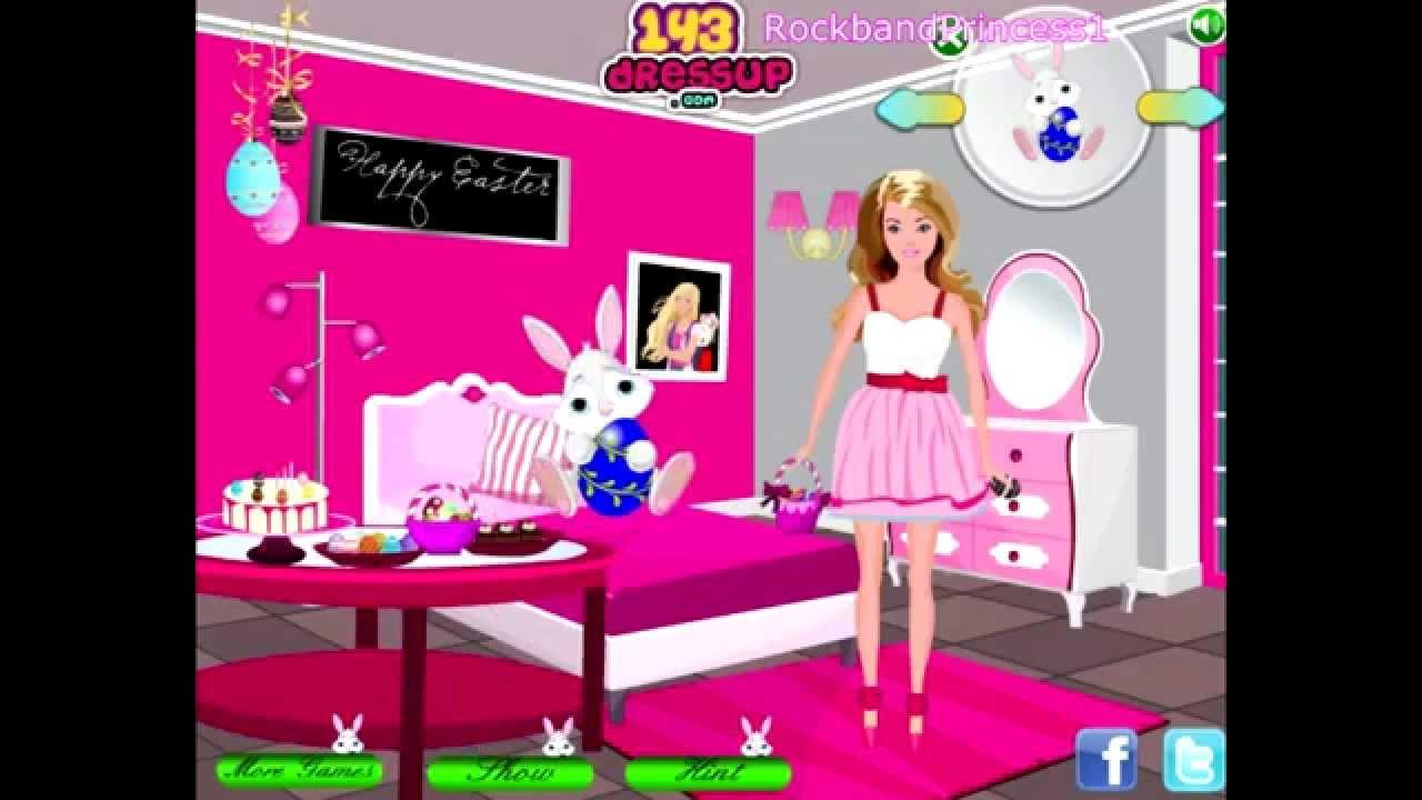 Barbie Games Barbie Room Makeover Game Youtube