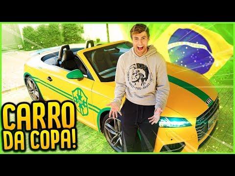 CARRO DA COPA DO MUNDO!! ( 17 MILHÕES ) [ REZENDE EVIL ]