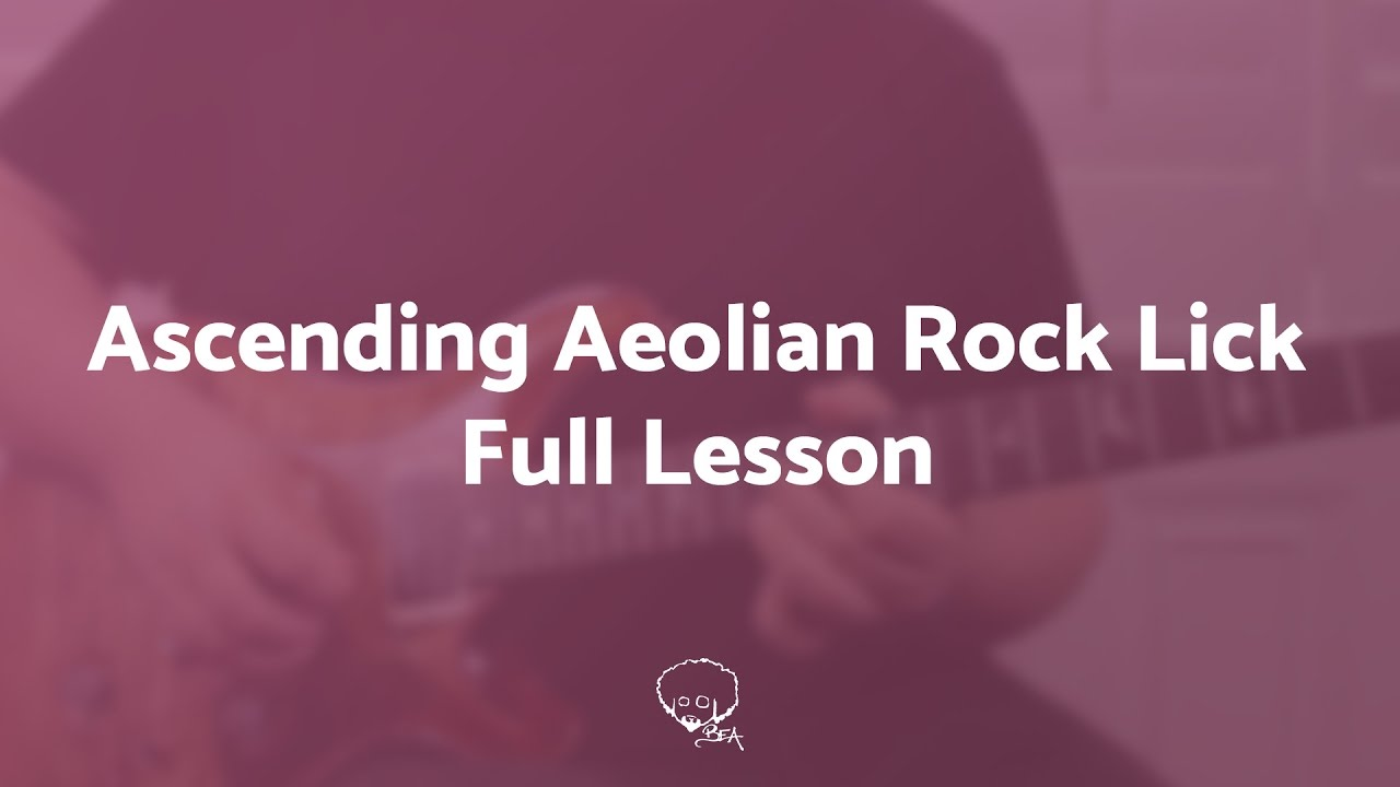 ascending natural minor rock lick free musicisum guitar lesson e flat tuning youtube. Black Bedroom Furniture Sets. Home Design Ideas