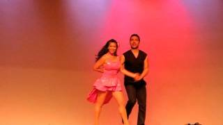 Toronto Dance Salsa Professional Dance Team Performance - Jessica and Olivier