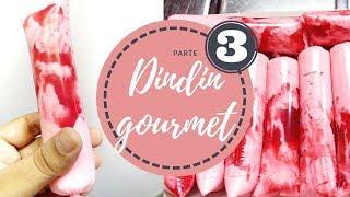 Dindin gourmet Com base de SUCO EM PÓ (Parte 3)