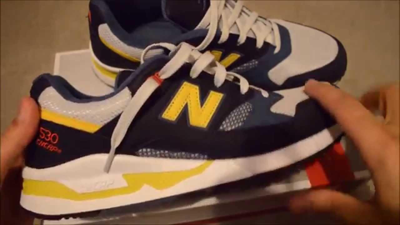New Balance 300 Men Red/Navy Tennis Shoes 23014