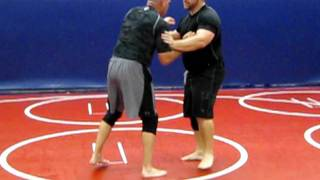 Modesto Grappling Club Instr. #67 Russian Two-On-One to Hip Toss
