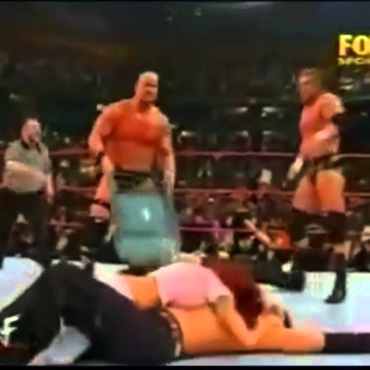 Stone Cold Steel Chair Gif Heavy Duty Casters Wwf Attacks Lita With A Youtube