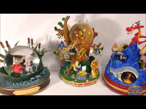 Disney Snow Globes and Constitutional Silver!