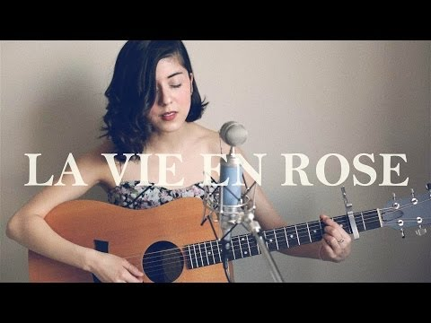 Girl does an amazing cover of La Vie En Rose