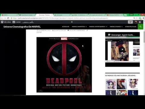 Descargar: Deadpool (Original Motion Picture Soundtrack)(2016)(Legal)(iTunes Amazon MEGA)