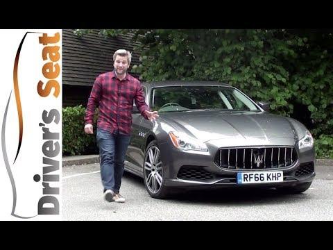 Maserati Quattroporte 2017 Review | Driver's Seat
