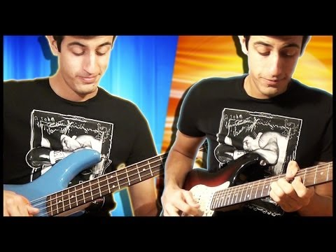 Download Youtube: Electric Guitar Meets Bass
