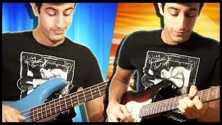 Electric Guitar Meets Bass