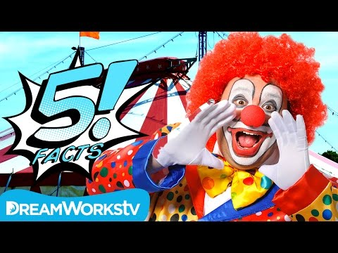 5 Goofy CLOWN Facts | 5 FACTS