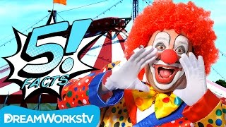 5 Goofy CLOWN Facts   5 FACTS