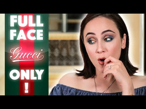 Full Face using only GUCCI Beauty❗️ straight outta milano 🇮🇹 First Impression Gucci Makeup   Hati