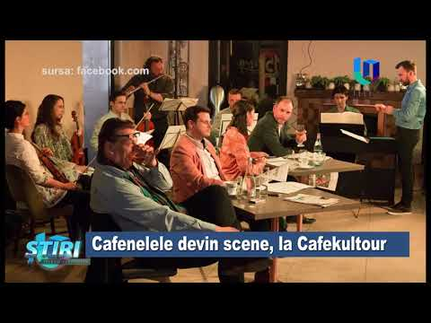 TeleU: Cafenelele devin scene, la Cafekultour