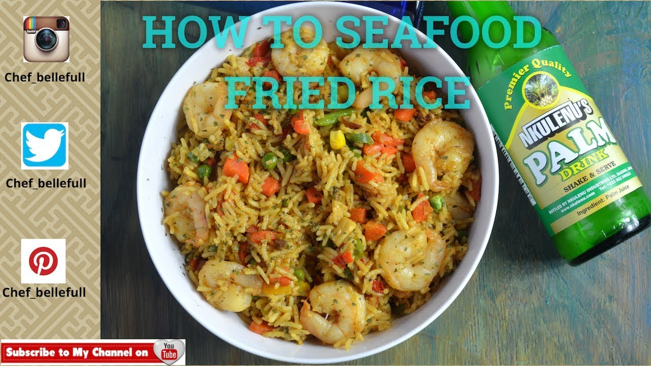 Howto make fried rice seafood fried rice youtube howto make fried rice seafood fried rice ccuart Image collections