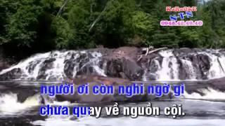 Karaoke TCVC TRO VE QUE HUONG - KEP