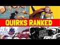 Top 8 TRANSFORMATION Quirks! / My Hero Academia