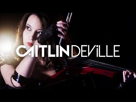 V is for Velvet - Caitlin De Ville | The Electric Violin Diaries