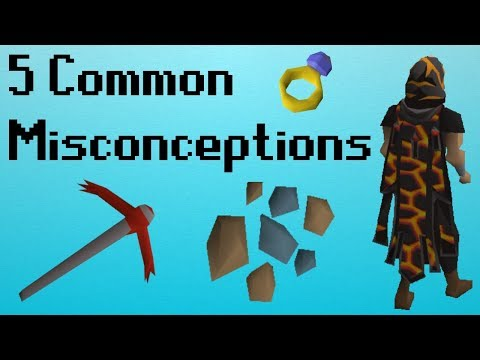 [OSRS] 5 Misconceptions You Probably Have in OSRS