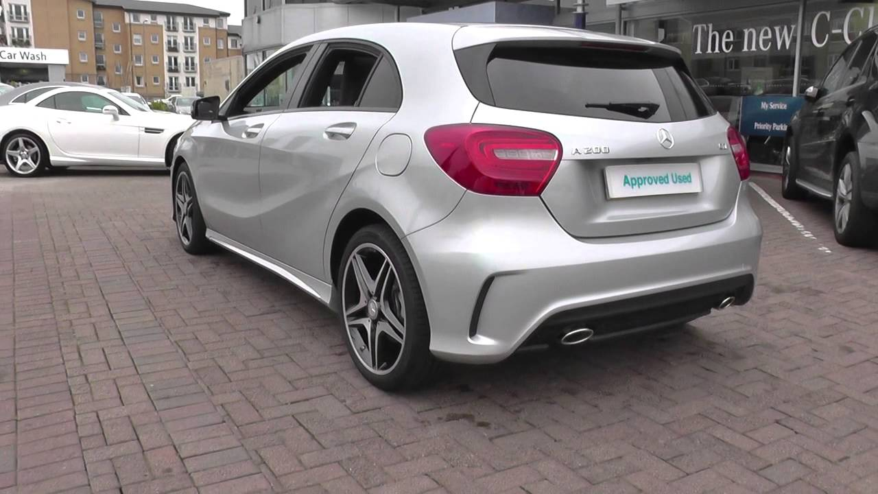 Mercedes benz a class 176 a200 cdi blueefficiency amg for Mercedes benz a200