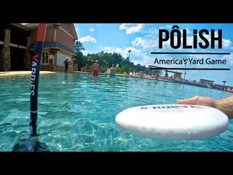 POLiSH From Yardies - A New Frisbee Game For 2 Or More Players