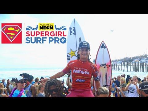 2017 Paul Mitchell Neon Supergirl Pro TV Show | Champion - Courtney Conlogue
