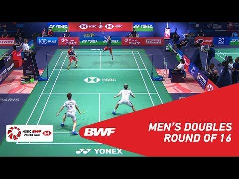 R16 | MD | GIDEON/SUKAMULJO (INA) [1] vs ENDO/WATANABE (JPN) | BWF 2018
