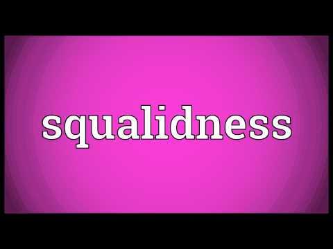 Header of squalidness