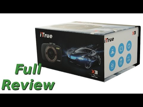 ITrue X3 Dashcam Full Review With Sample Footage