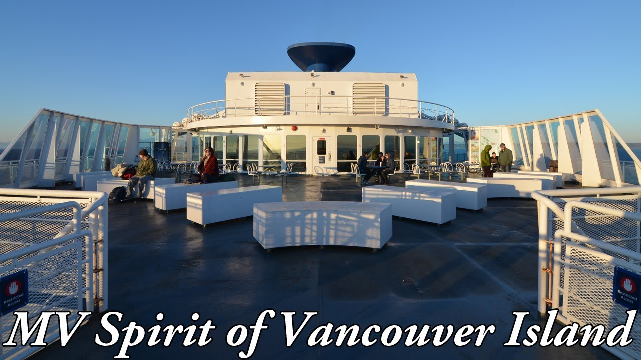 From Vancouver To Vancouver Island Ferry