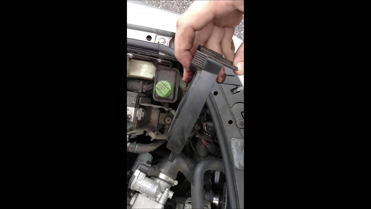 2003 volkswagen passat headlight replacement