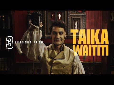 3 Lessons from Taika Waititi